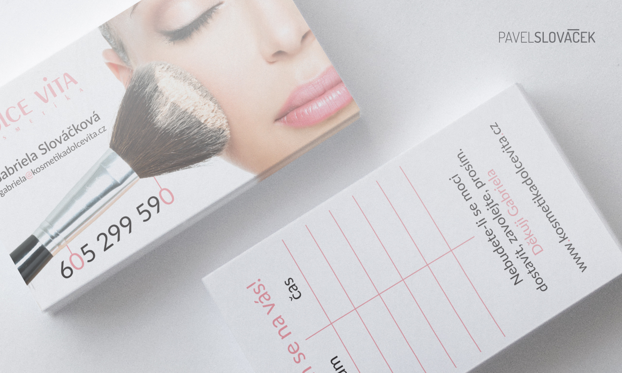 Business Card Beauty Salon