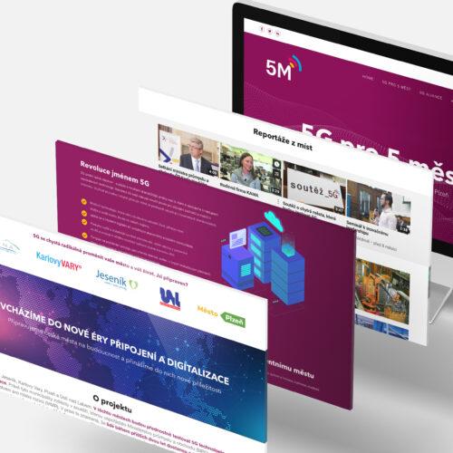 web 5G pro 5 měst